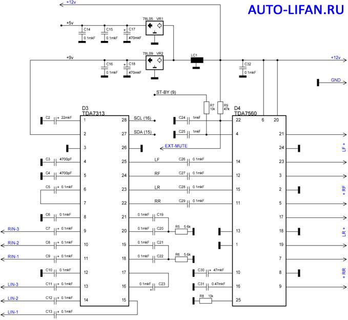 детальное изучение схем авто