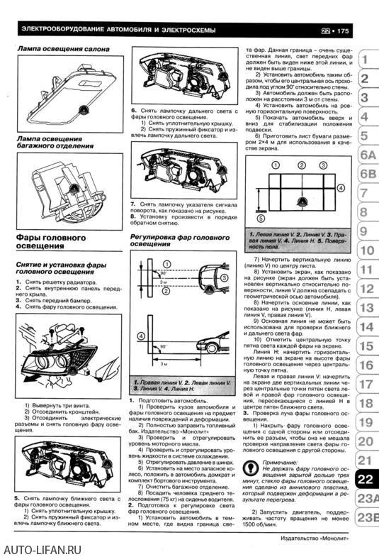 электросхема лифан х60